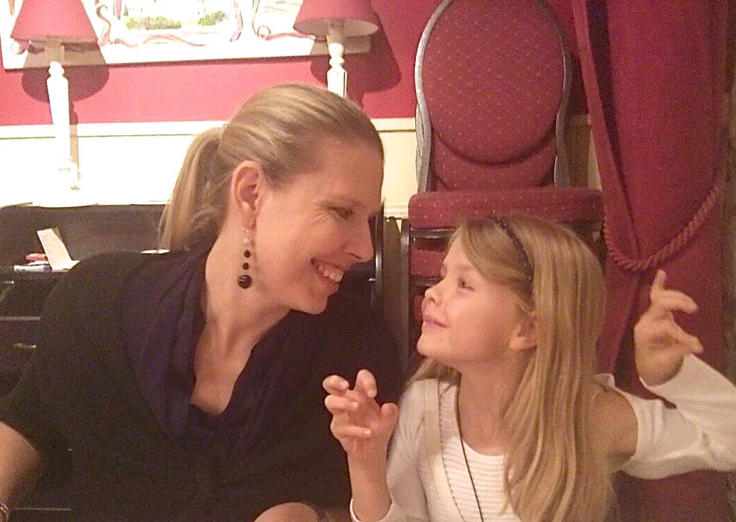 Chiara Traversi e la sua bimba, Sofia