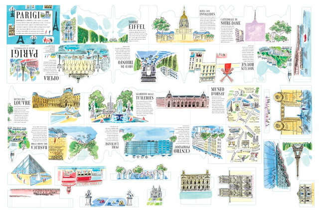 Parigi Cartina Monumenti.Libri Per Bambini Su Parigi La Magia Inizia Qui Moms About Town