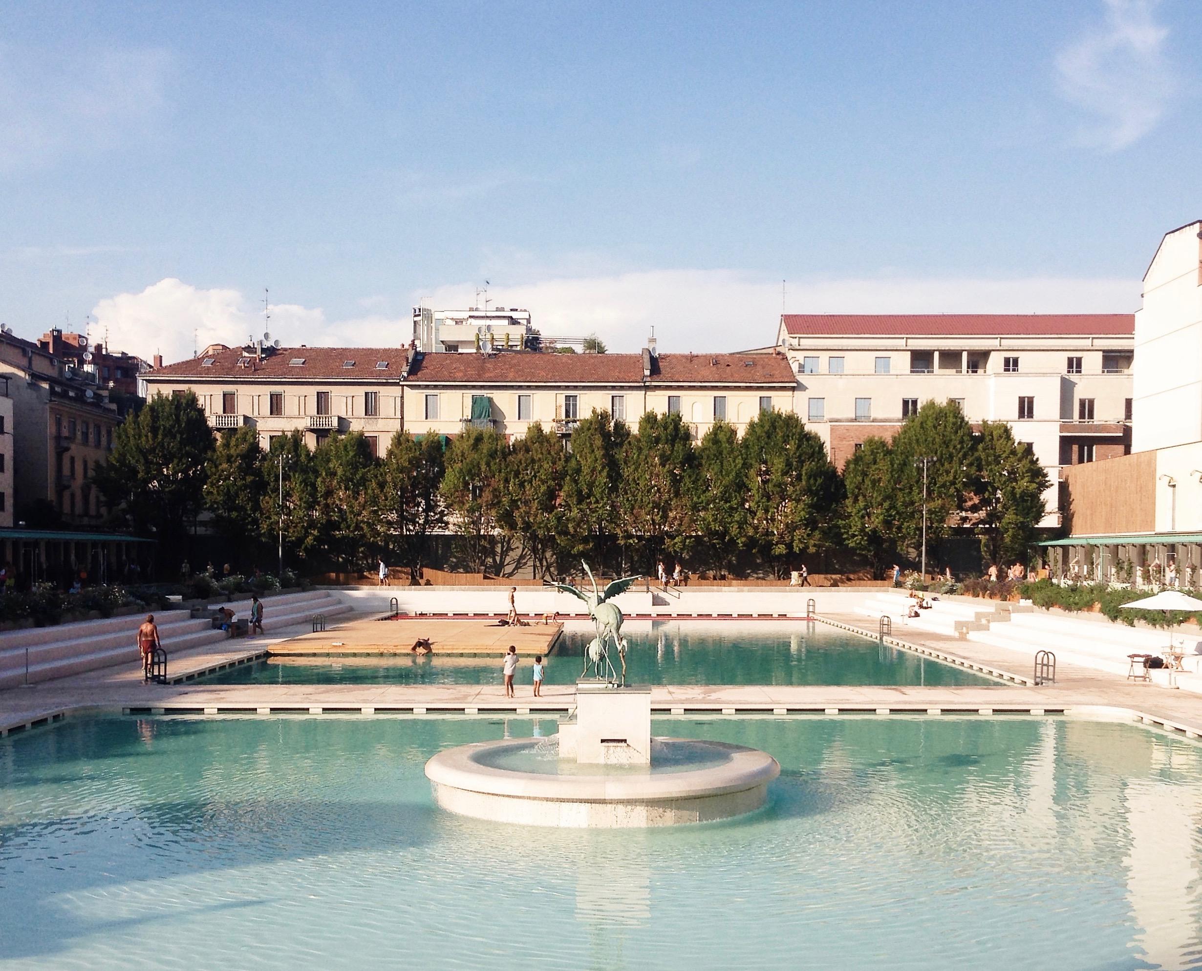 Estate e caldo i bagni misteriosi a milano gallery meteo web